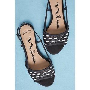 Anthropologie Nina Sereana Slingbacks  shoes